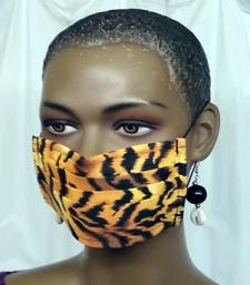 African-Gold-Zebra-Print-Fa