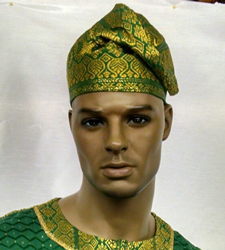 African-Green-Hat