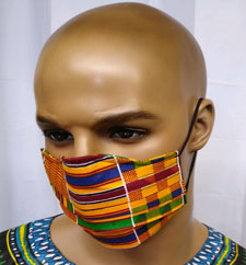 African-Kente-Blue-Face-Mas