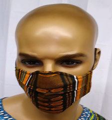 African-Kente-Cup-Face-Mask
