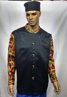 African-Kente-Neru-Shirt