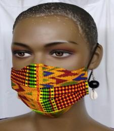 African-Kente-Print-Face-Ma
