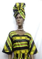African-Kente-Short-Sleeve-