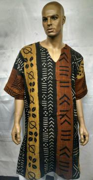 African-Mud-Cloth-Dashiki-S