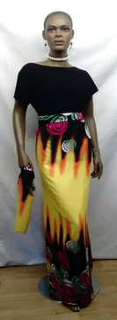 African-Multi-colored-Skirt