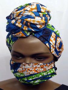 African-Orange-Blue-Face-Ma