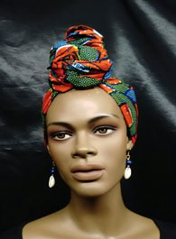African-Orange-Print-Knotte