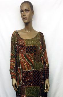 African-Print-Short-Kaftan
