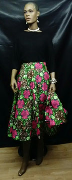 African-Print-Short-Skirt