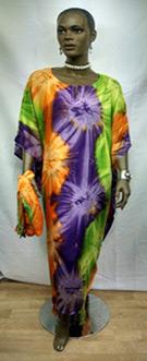 African-Purple-Tye-Dye-Caft