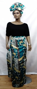 African-Teal-Blue-Skirt01