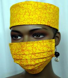 African-Yellow-Face-Mask