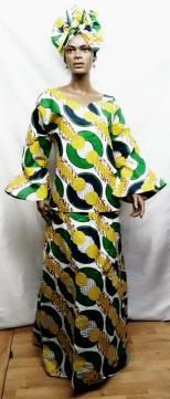 African-Yellow-Green-3pc-Se
