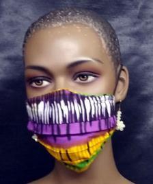 African-Yellow-Purple-Tye-D