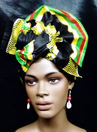 African-kente-Head-Wrap