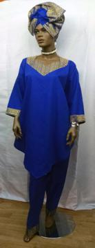 Blue-Gold-3pc-Pants-Set