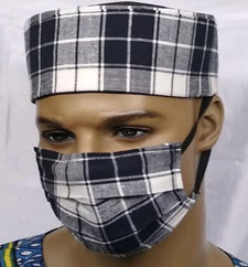 Custom-Plaid-Face-Mask