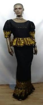 Elegant-African-Black-Gold-