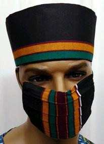 Kente-Mask