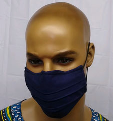 Mens-Navy-Blue-Face-Mask
