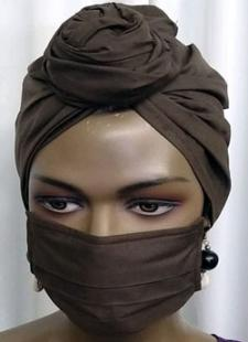 Woments-Brown-Face-Mask